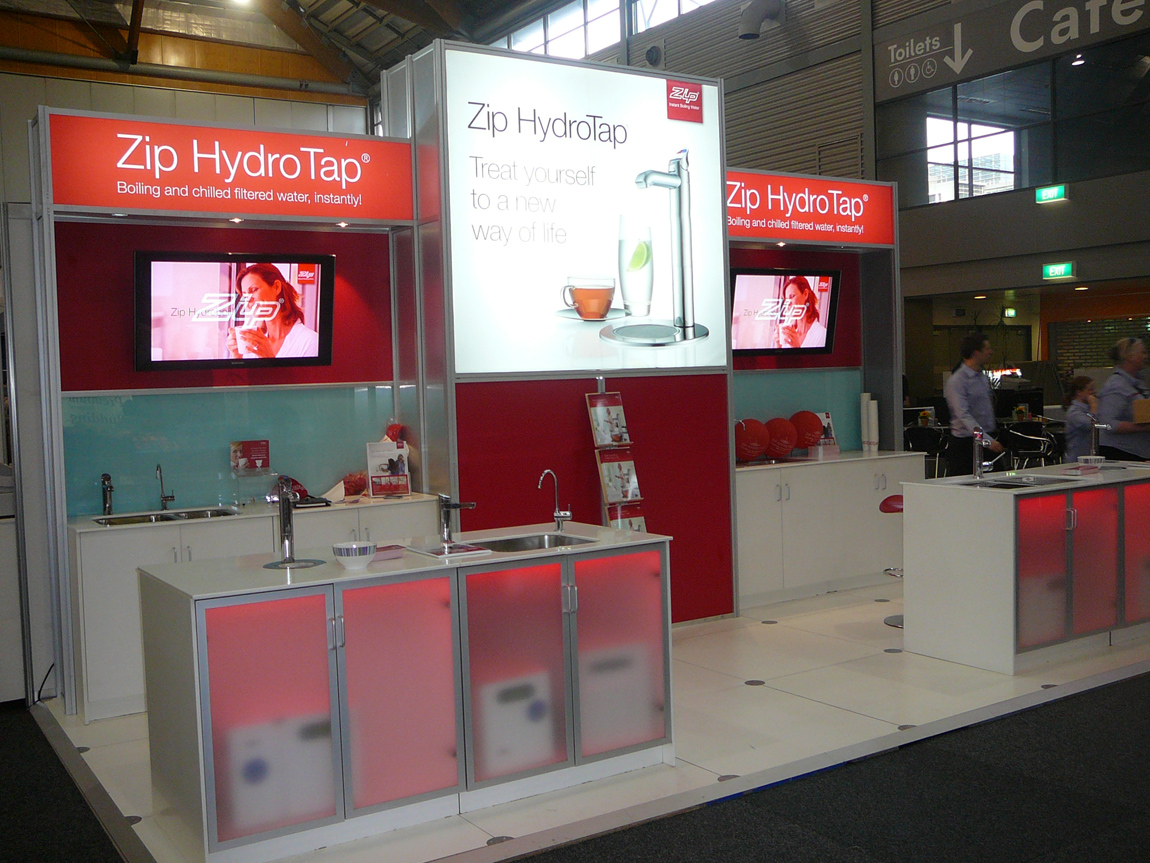 Expo Stands Australia : Octanorm and exhibition stands pages hire